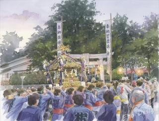 2017年9月29日 「淡嶋神社」