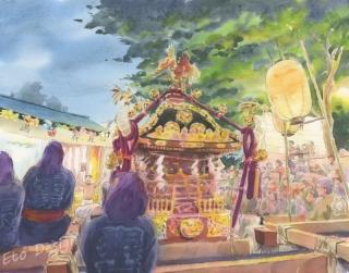 2017年10月2日 「淡嶋神社」
