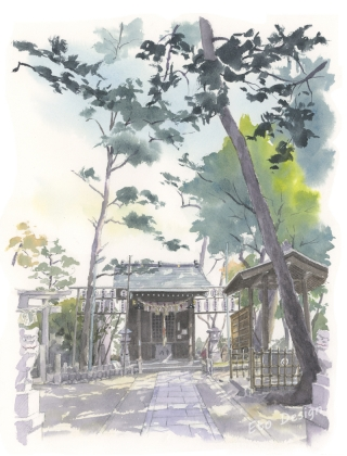 2018年3月3日 「賀来神社」