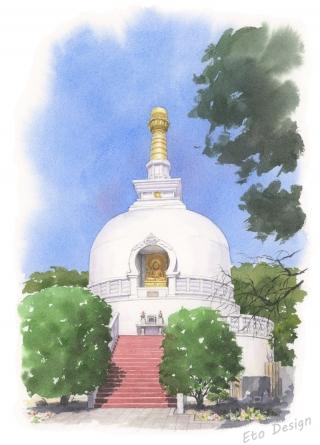 2018年3月6日 「龍口寺仏舎利塔」