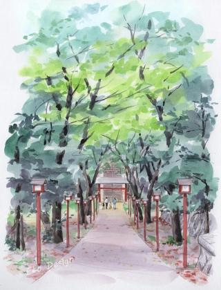 2016年8月15日 「菅原神社(町田市)」