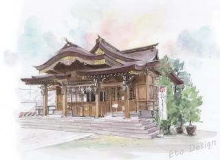 2016年8月16日 「菅原神社(町田市)2」